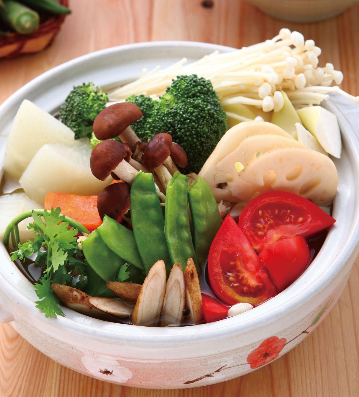 【素食火鍋湯頭食譜】有 7 道