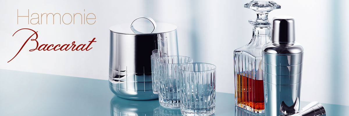 Baccarat Crystal Double Old Fashioned