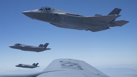 F-35A Lightning II's de Hill Air Force Base Utah