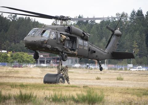 US Army testing UH-60V Fort Lewis in Washington state c US Army