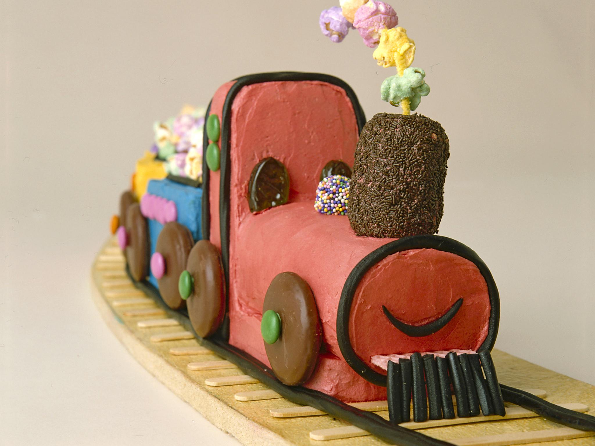 Choo Choo Train Birthday Cake Recipe