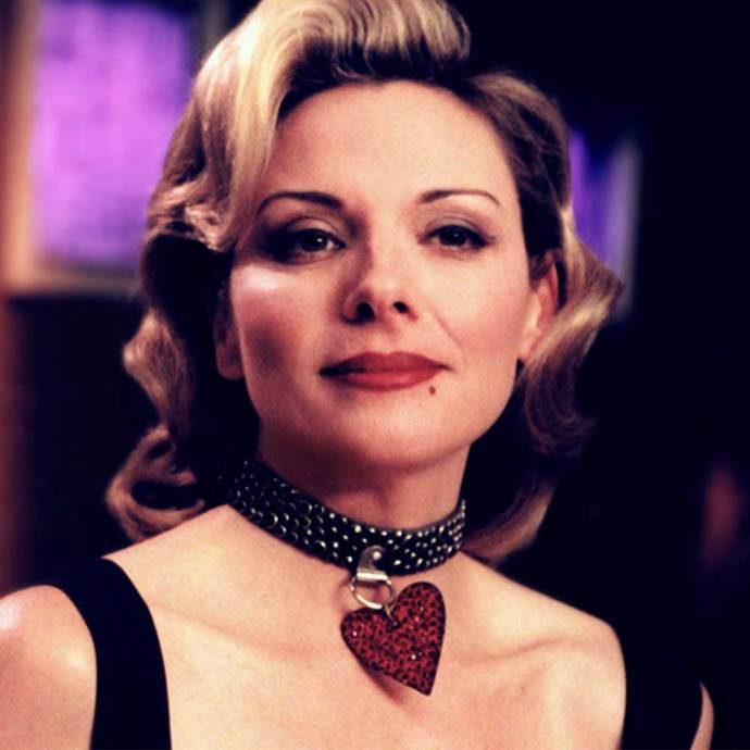 **The good**   Samantha *nails* old-Hollywood glamour.