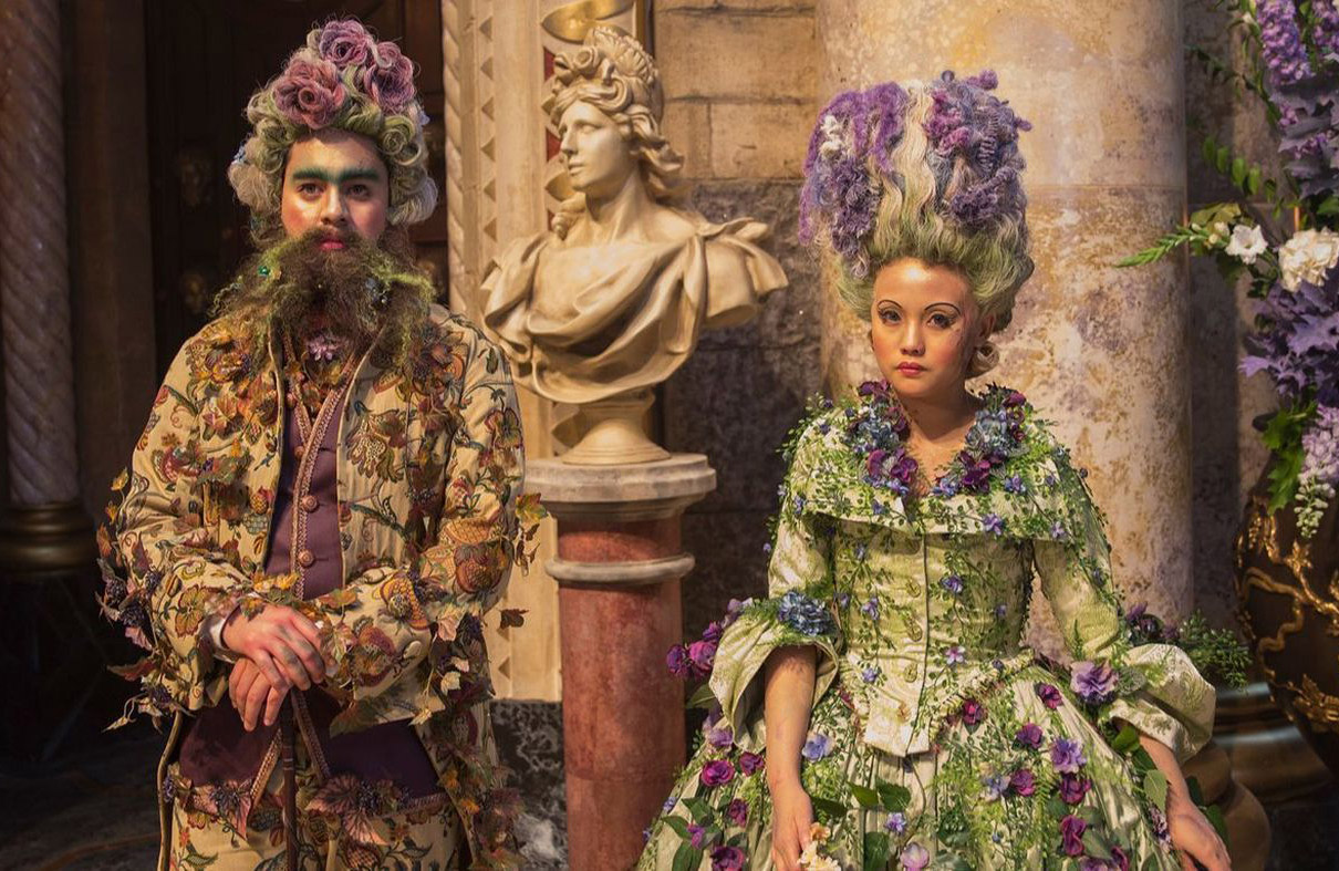 Costume design included a 12-week prep time, with the movie's main cast requiring around 150 costumes. Image: Disney