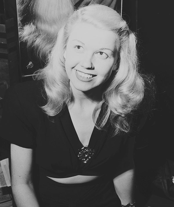 Doris Day pictured in 1946. (Image: Getty Images)