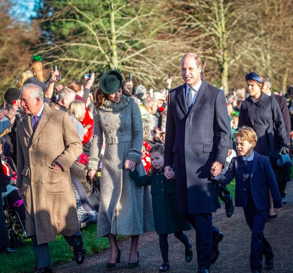 Christmas is usually a very busy day for the British royals.