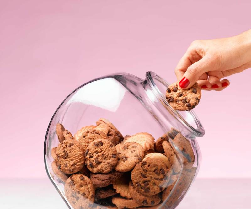 Eugenia says there are about six different reasons someone might binge or emotionally eat, but the most common on is stress. (Image: Getty)