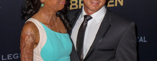 "In pictures: Turia Pitt and Michael Hoskin's love story:But Michael gave up his job as a cop to care for the love of his life. Turia describes Michael and her mum, Celestine, 45, as her rocks. ""You are looking beautiful today Turia. What are you going to achieve today?'' She recalled Michael saying to her, when she was in the hospital."