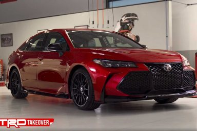 Toyota Camry and Avalon TRD editions revealed