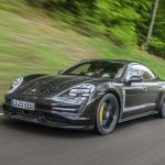 2020 Porsche Taycan Turbo Prototype Ride Review Motor