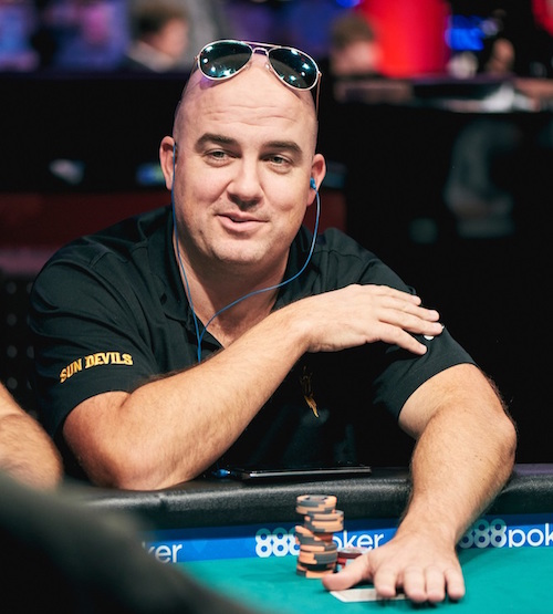 Ryan Hughes WSOP poker player