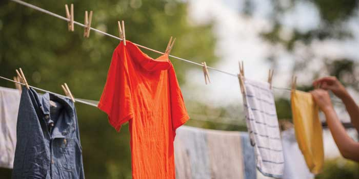 The Backyard Clothesline – Our State Magazine