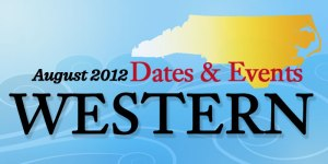 August Dates and Events in Western North Carolina