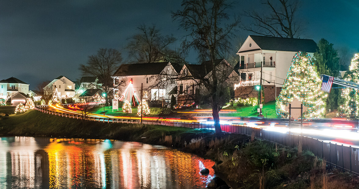 holiday light shows in Mcadenville