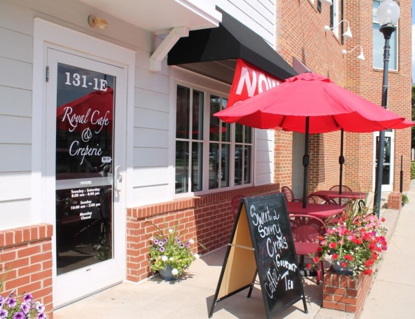 Royal Café & Creperie in Matthews has been open since February.
