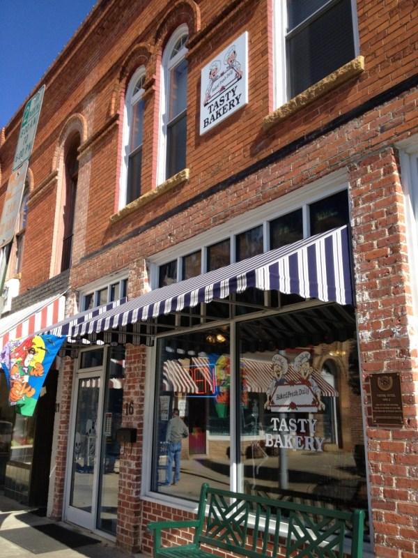 The Tasty Bakery storefront in Graham.