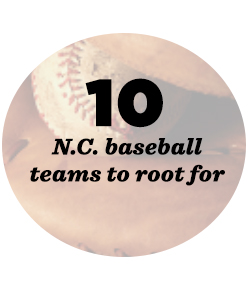 10 baseball team in NC