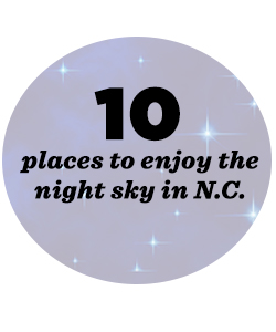 10 places to see the night sky in NC