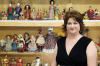 """Whatever your age, the Doll and Toy Museum in Spencer probably has the toy you cherished. Amy's sister, Beth Morris Nance, knows the stories behind the toys, including the saga of """"the sad German rag doll,"""" owned by a child of Nazi sympathizers."""