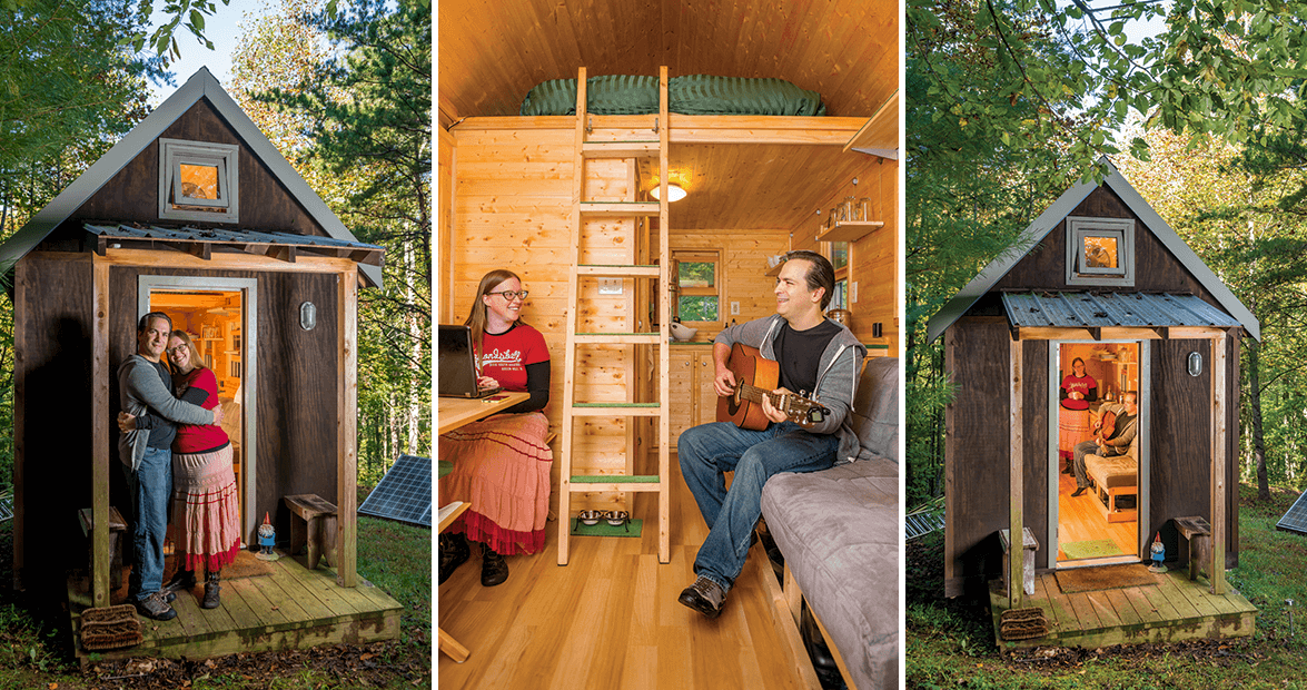What Its Like to Live in a Tiny Home Our State Magazine