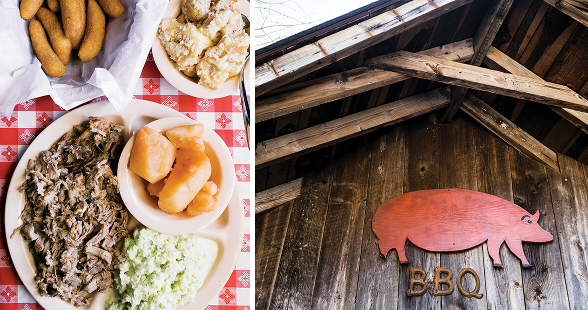 Running on Full: The North Carolina Historic Barbecue Trail
