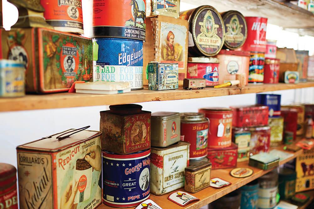 tobacco tins