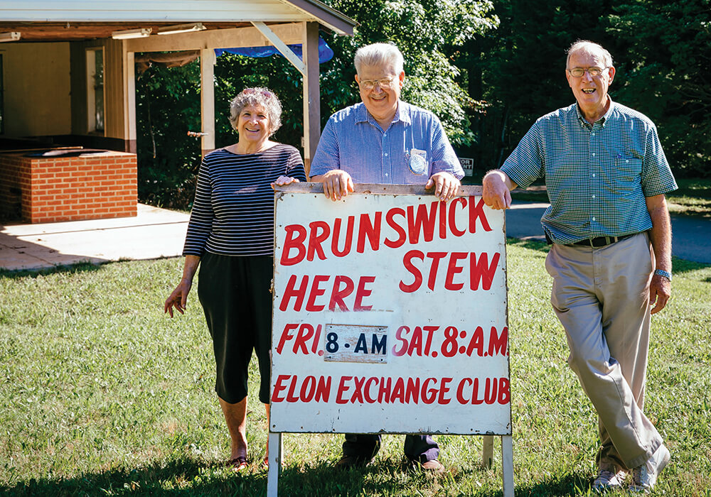 The Helping Hands Behind Elon Exchange Club's Brunswick Stew