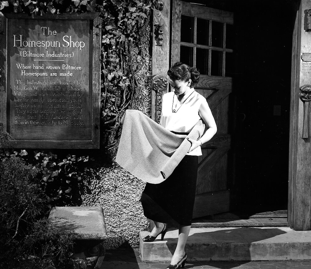 The Woven History of Biltmore Industries' Homespun Shop