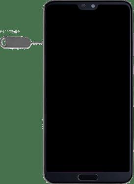 How To Insert My Sim Card Huawei P20 Pro 4g Virgin Media Ireland