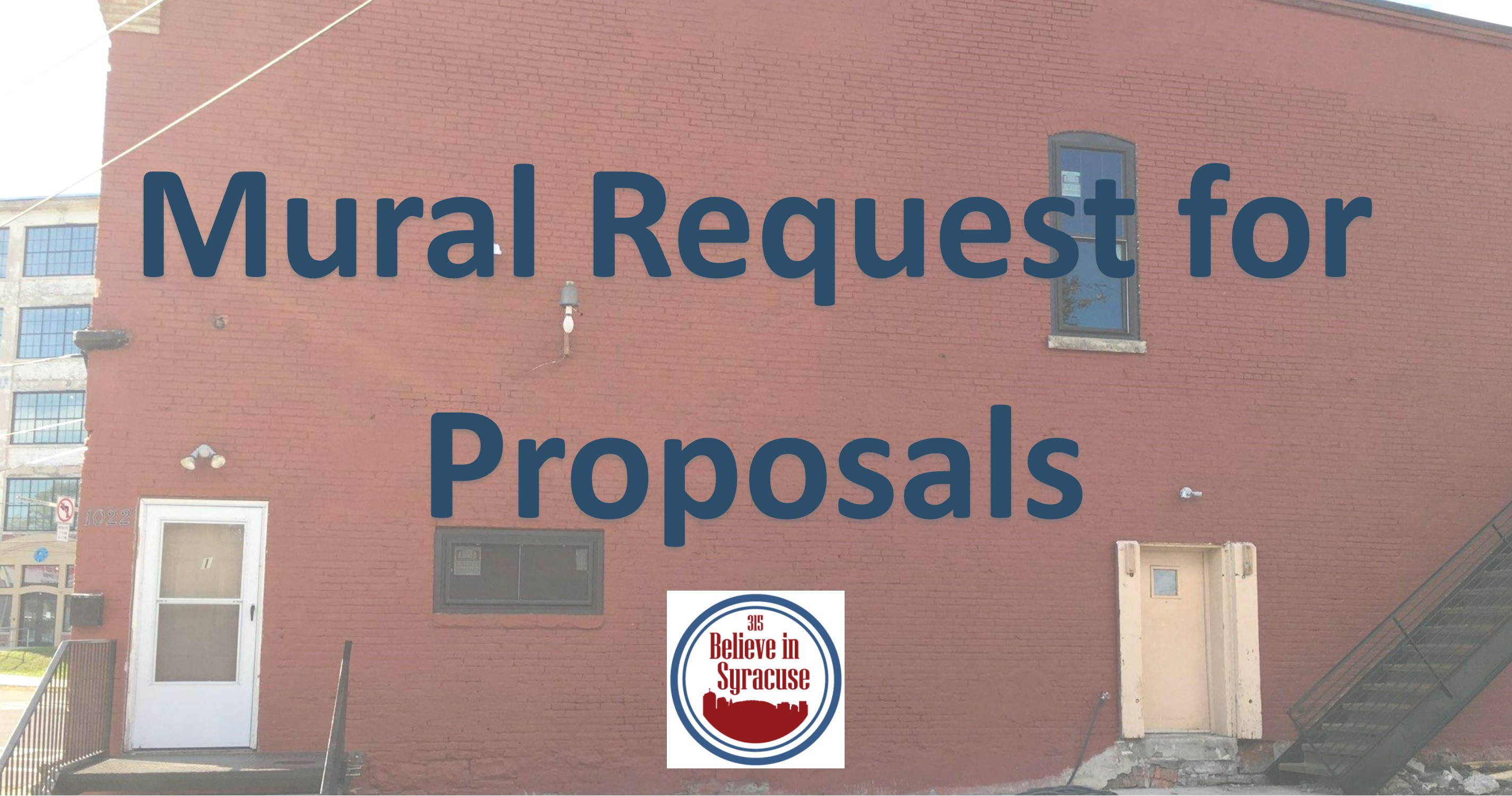 Mural Request for Proposal   Believe in Syracuse Mural Request for Proposal  Mural Request for Proposal jpg