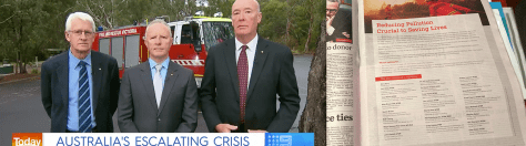 Today Show segment and statement in The Age