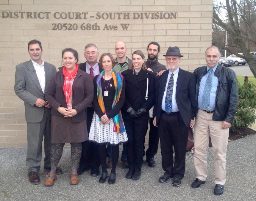 The Delta5 and Climate Disobedience Center Team