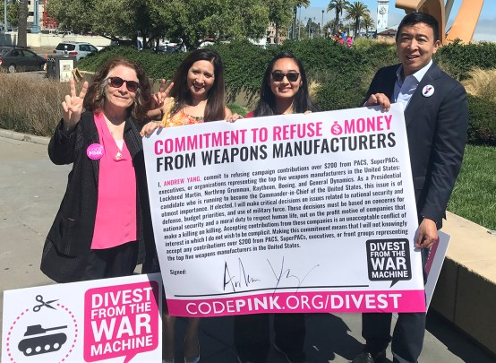 Divest from War Coalition Digest, July 2019 | CODEPINK