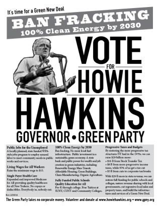 Green Party Anti-Fracking Flyer PDF