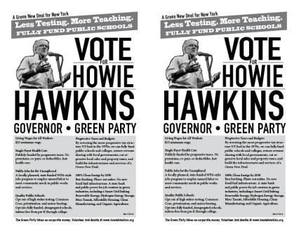 Green Party Education Flyer PDF