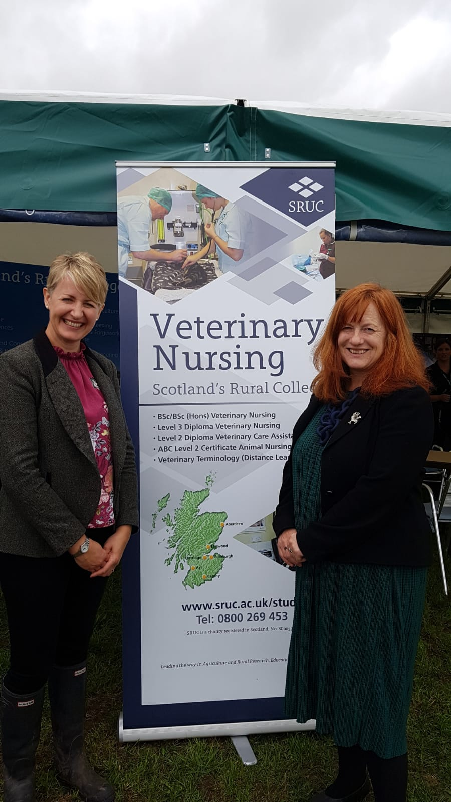 Msp Celebrates Regions Agricultural Sector At Dumfries Show