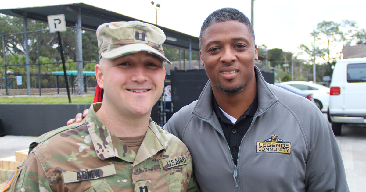 Warrick Dunn: An Athlete We Can All Look Up To