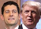 Paul Ryan, Donald Trump