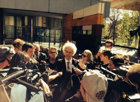 High Court Melbourne 29 September. Photo by @rustywoodger