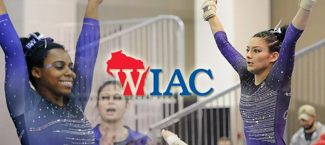O'Donnell and Evans Sweep WIAC Gymnast of the Week Honors