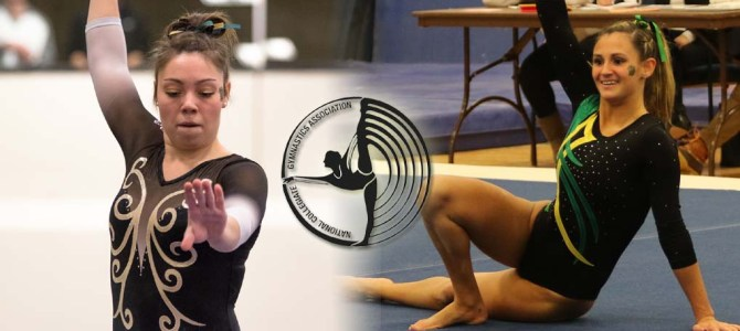 Brockport's Kowalik and Vasile Sweep NCGA East Gymnast of the Week Honors