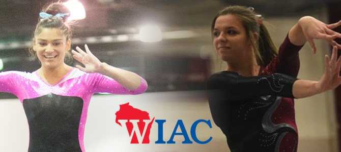 O'Donnell and Vorderbruggen Collect WIAC Gymnast of the Week Honors