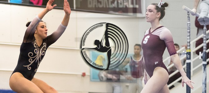 Mager and Clemens Earn Final NCGA East Gymnast of the Week Honors of the Season