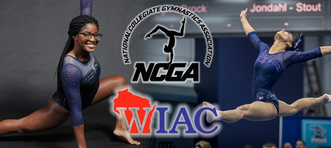 Boone and Bugge Collect WIAC Gymnast of the Week Honors