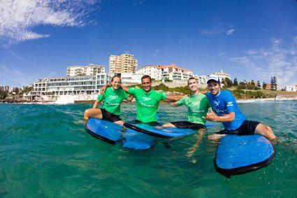 Bondi Beach Surfing Lessons