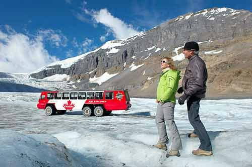 Icefields Parkway Discovery Tour W/ Glacier Adventure & Glacier Skywalk