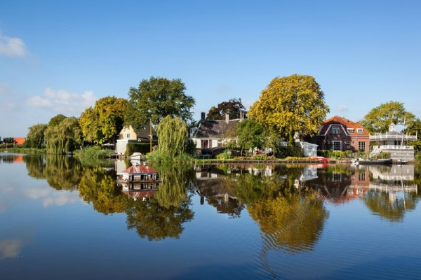 4-Hour Amsterdam Countryside Bike Tour: Broek and the Waterlands District