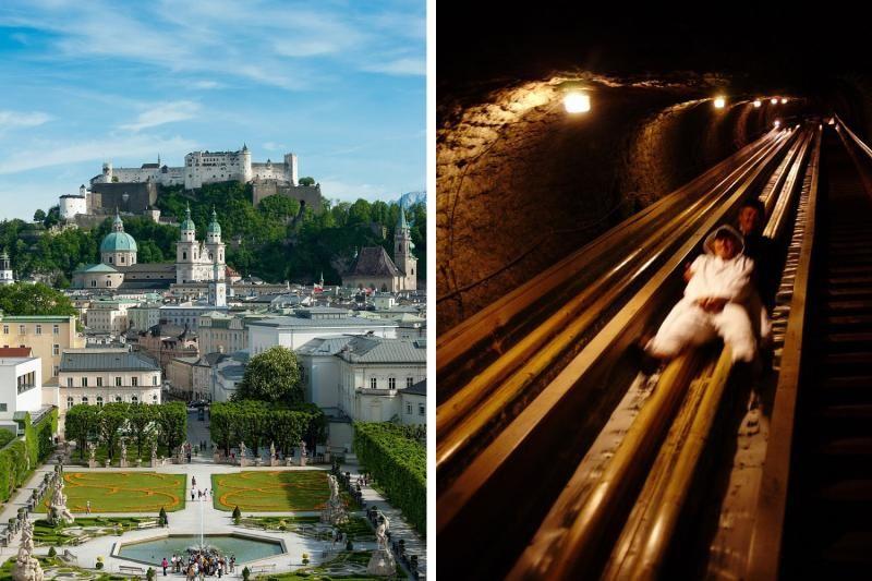 Salzburg Sound of Music Locations and Hallein Salt Mine Day Tour