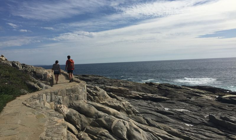 Chilean Pacific Coast Day Hike From Santiago