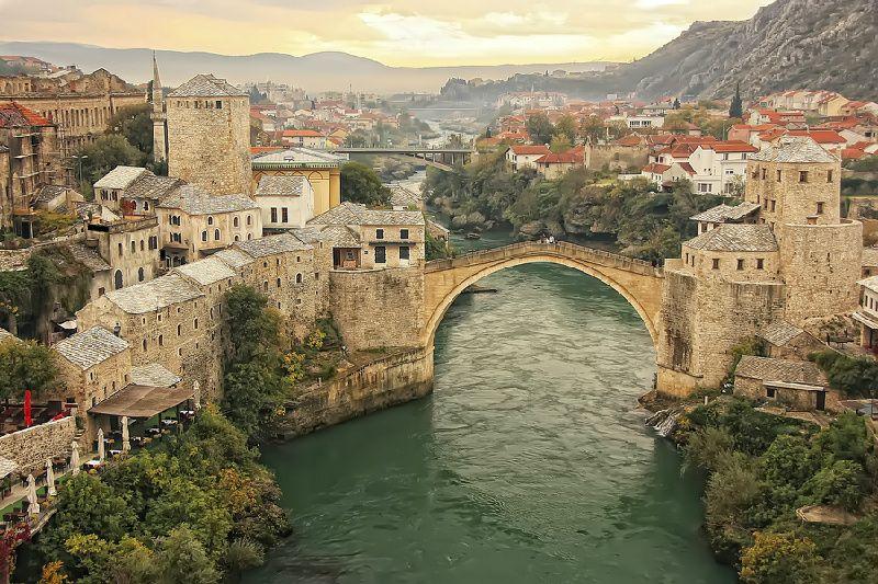 Mostar Day Trip from Split w/ Kravice Waterfalls