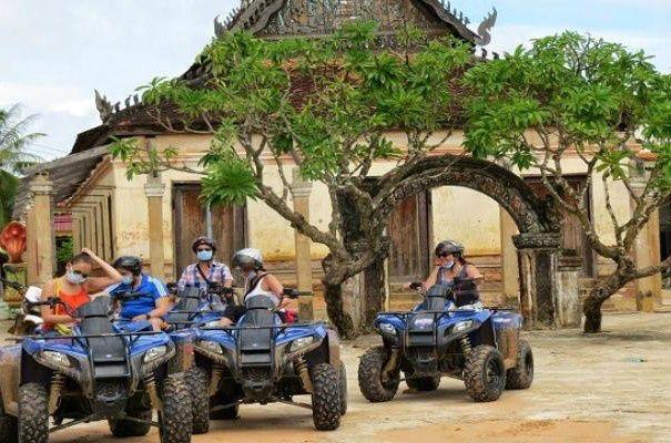 Full-Day Siem Reap Countryside Quadbike Tour